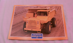 Caterpillar 769 B Dump Construction Truck 1963 framed picture